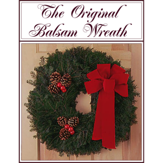 "Original Balsam 22"" Wreath"